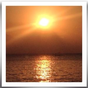 Sunset @ Senggigi beach