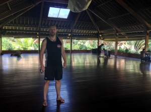 Arne at the Yoga Barn @ 6:40
