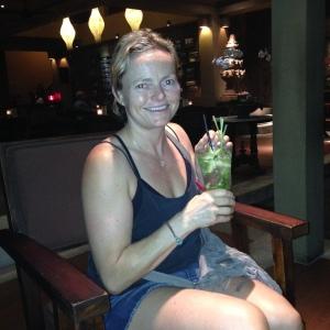 Katja and a Lime Squash
