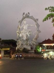Roundabout in Ubud
