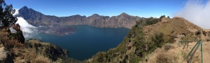 Panorama from the crater rim