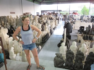 Just a small part of the sculptures available