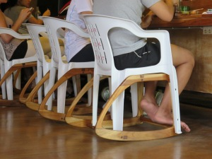Bar-Rocker tm - @ the local coffee bar