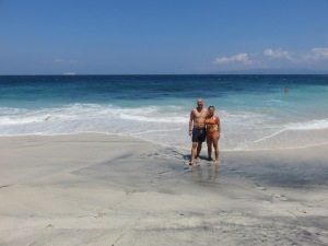 Us @ White sand beach
