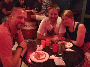 Dinner with Ida & Espen
