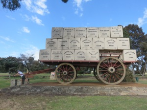 "The ""wagon"" @ Kojonup"