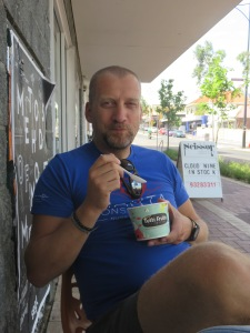 Frozen yogurt shops are hard to pass up