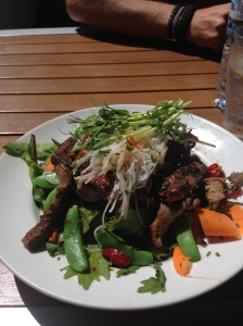 Thai beef salad @ South Beach Hotel