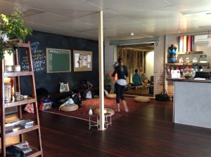 Power living yoga studio