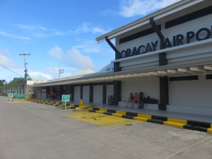 Caticlan airport. All of it.