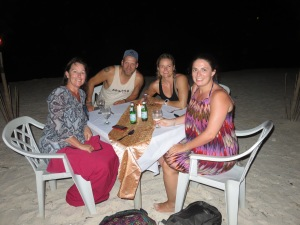 Therese, me, Katja and Jenna