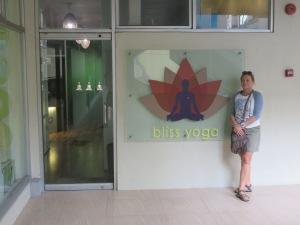 The Bliss yoga studio