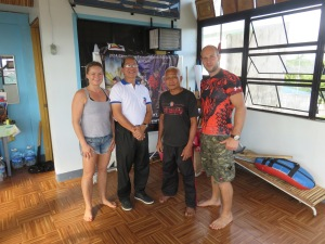 Katja, GM Rene Tongson, GM Rodel and Alexander