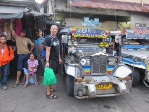 Entering a Jeepney @ Jeeepney street