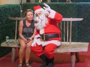 Katja and Santa