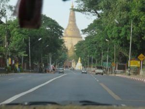 The Pagoda from afar