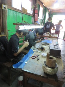 Crafting different types of goods