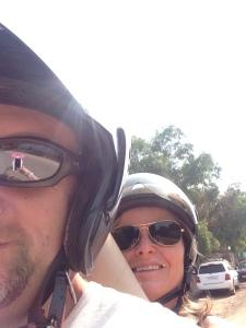 Driving mrs. Selfie