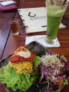 Katja's vegetarian taco