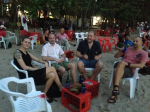Emma, Mats, Claes and I