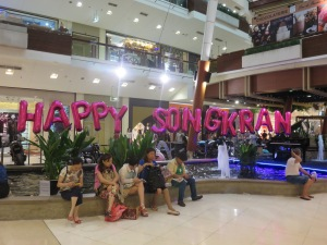 Songkran celebration have started