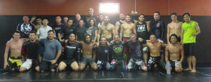 Group picture from BJJ class. Of course taken after I had left the scene