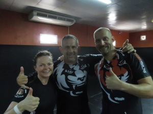 Us and Fernando Maccachero. 5th Dan Brazilian jiu jitstu