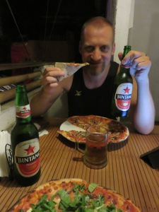 Pizza and Bintang
