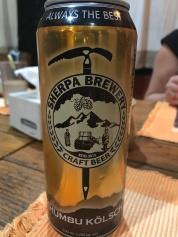 Mmmmmm Sherpa Beer